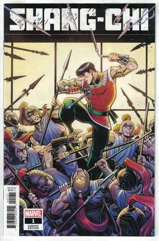 Shang-Chi #1 1:50 Art Adams Variant Marvel 2020 VF/NM