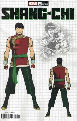 Shang-Chi #1 1:10 Jim Cheung Design Variant Marvel 2020