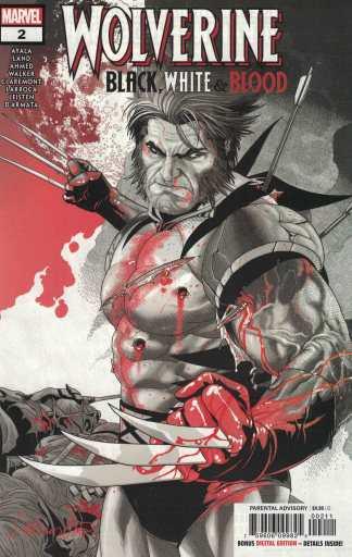 Wolverine Black White and Blood #2 Secret Variant Marvel 2020