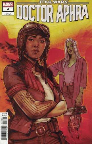 Star Wars Doctor Aphra #4 1:25 Tuta Lotay Variant Marvel 2020