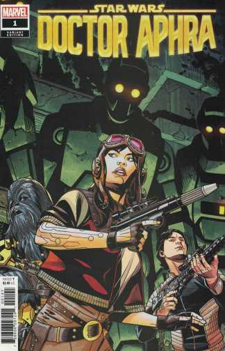 Star Wars Doctor Aphra #1 1:50 Chris Sprouse Variant Marvel 2020
