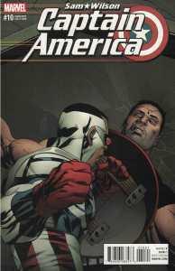 Captain America Sam Wilson #10 Mike McKone Variant Marvel 2015 Civil War II