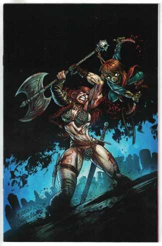 Killing Red Sonja #1 Juan Gedeon Limited Virgin Zombie Variant 2020 VF/NM