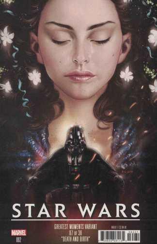 Star Wars #62 Kaare Andrews Greatest Moments Variant Marvel