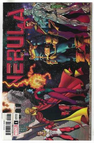 Nebula #1 1:100 Ron Lim Variant Marvel 2020 VF/NM