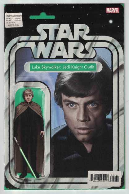 Star Wars Empire Ascendant #1 Luke Skywalker Action Figure Variant VF/NM