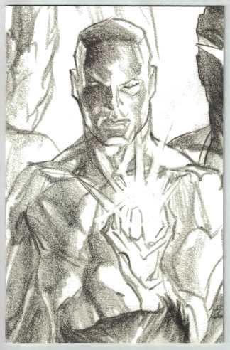 Marauders #13 1:100 Alex Ross Timeless Sketch Variant X of Swords Iceman VF/NM