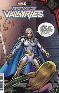 King in Black Return of the Valkyries #1 1:50 Variant Marvel 2021