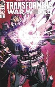 Transformers #26 1:10 Alex Milne Variant IDW 2019 Brian Ruckley