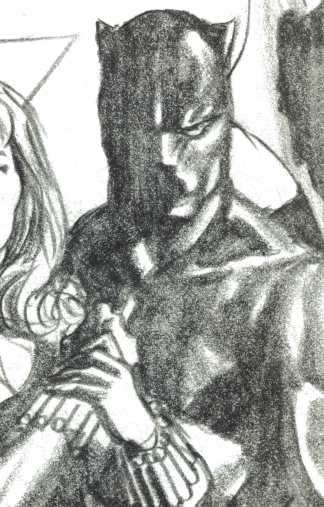 Avengers #37 1:100 Alex Ross Timeless Virgin Sketch Variant 2020 Black Panther