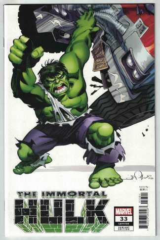 Immortal Hulk #33 1:100 Walt Simonson Variant Marvel 2018 Incredible #750 VF/NM