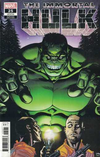 Immortal Hulk #25 1:25 Ed McGuinness Variant Marvel 2018 Incredible