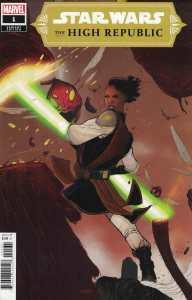 Star Wars High Republic #1 1:25 Sway Variant Marvel 2021 Cavan Scott Keeve