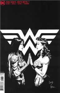 Dark Nights Death Metal #7 1:100 Greg Capullo B&W Sketch Variant DC 2020