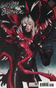 King in Black Gwenom vs Carnage #1 1:25 Inhyuk Lee Variant Marvel 2021