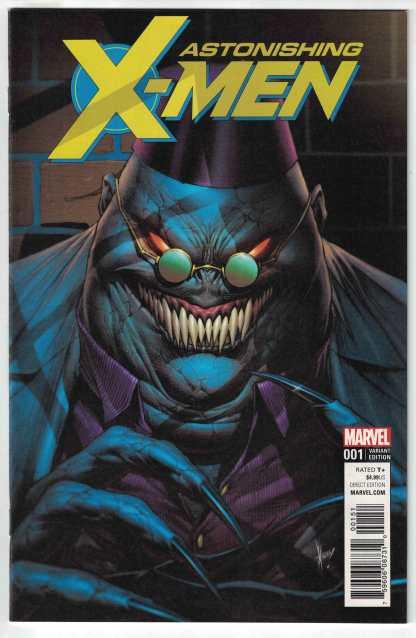 Astonishing X-Men #1 1:25 Dale Keown Shadow King Variant Marvel 2017 VF/NM