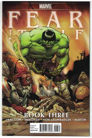 Fear Itself #3 1:75 Giuseppe Camuncoli Hulk Variant Marvel 2011 Fraction VF