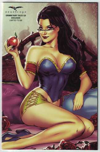 "Grimm Fairy Tales #125 Elias Chatzoudis ""Nice"" Variant Ltd to 500 VF/NM"
