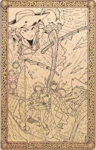 Jim Henson's Dark Crystal Age of Resistance #9 Jen Bartel 1:10 Variant