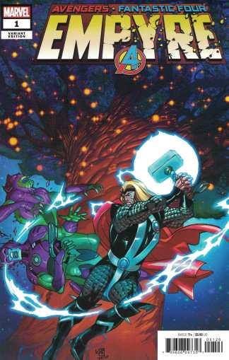 Empyre #1 Pasqual Ferry One-Per-Store Secret Variant Marvel 2020