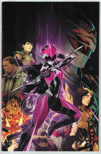Power Rangers Ranger Slayer #1 1:10 Dan Mora Virgin Variant Boom 2020 VF/NM