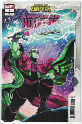 Lords of Empyre Emperor Hulkling #1 1:10 Luciano Vecchio Variant 2020 VF/NM