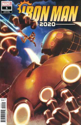 Iron Man 2020 #5 1:25 Mico Suayan Variant Marvel