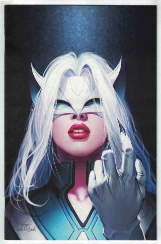 Future Fight Firsts White Fox #1 1:100 In-Hyuk Lee Virgin Var Marvel 2019 VF/NM