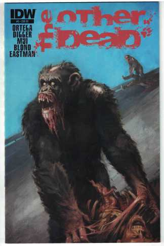 Other Dead #6 1:10 Shane Pierce Retailer Incentive Zombie Variant IDW 2013 VF