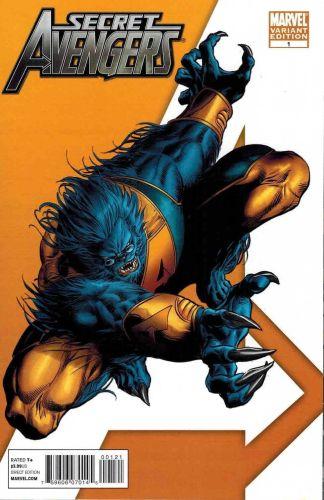 Secret Avengers #1 Mike Deodato Beast Variant