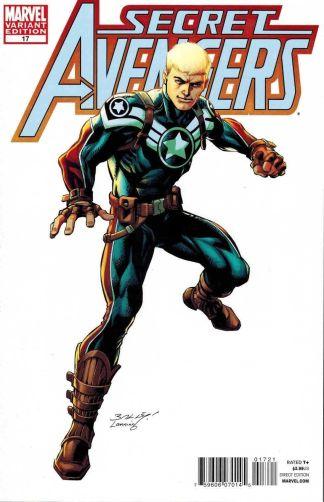 Secret Avengers #17 Mark Bagley Captain America Color Variant