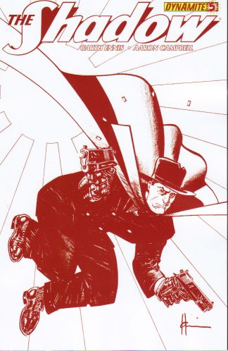 Shadow #5 Howard Chaykin Bloody Red Variant