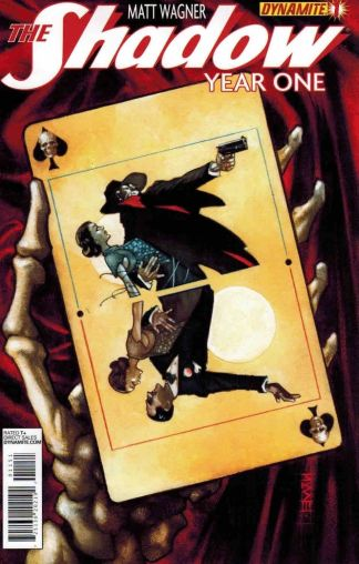 Shadow: Year One #1 Limited Edition Snyder Playing Card Variant