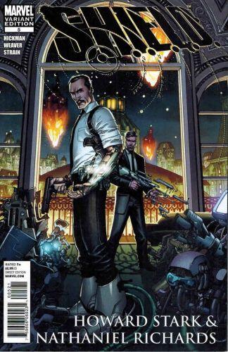 Shield #6 Dustin Weaver Howard Stark Nathan Richards Variant