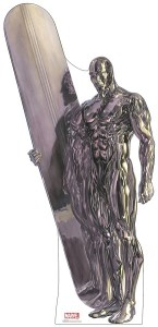Silver Surfer 88in. Life-Size Cardboard Cutout Marvel Alex Ross Timeless Collection US Only