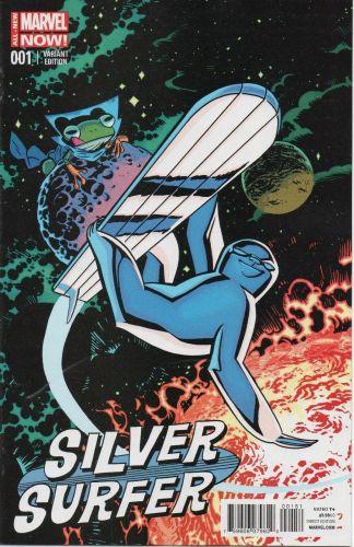 Silver Surver #1 Chris Samnee Animal Variant