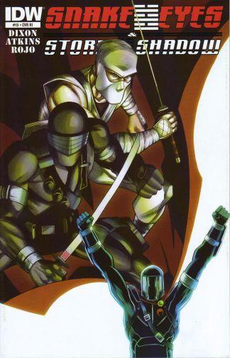 Snake Eyes and Storm Shadow #15 Lee Ferguson Retailer Incentive Variant G.I. Joe