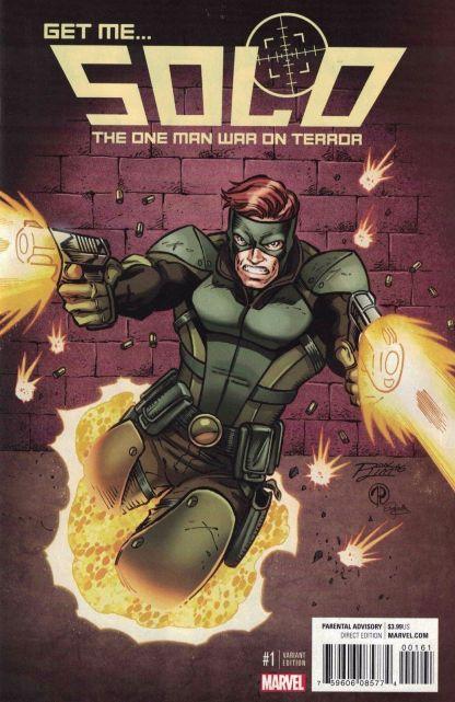 Solo #1 Ron Lim Variant NOW Marvel 2016 Mercs For Money