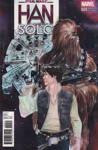 Star Wars Han Solo #4 1:25 Dustin Nguyen Variant Marvel 2016