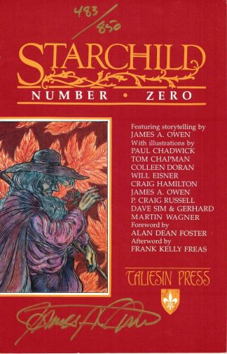 Starchild #0 Signed and Numbered Red Variant