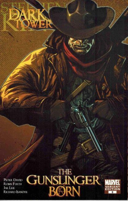 Stephen King Dark Tower Gunslinger Born #3 1:25 Lenil Yu Variant Marvel 2007