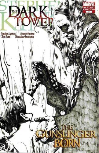 Stephen King Dark Tower Gunslinger Born #7 1:50 Jae Lee Sketch Variant Marvel
