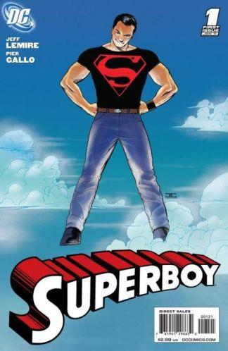 Superboy #1 1:10 John Cassaday Variant DC 2010