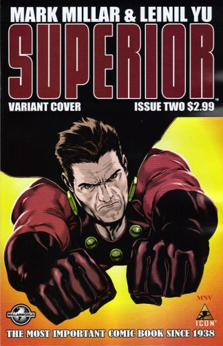 Superior #2 Steve McNiven Variant Mark Millar Yu Kick-Ass
