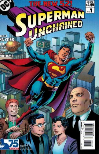 Superman Unchained #1 Modern Age Jerry Ordway Alex Sinclair Variant Snyder Lee