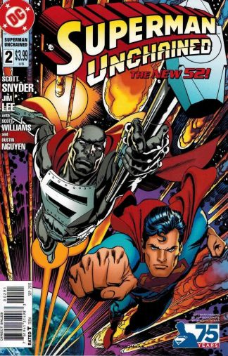 Superman Unchained #2 Jon Bogdanove 90's Steel Variant