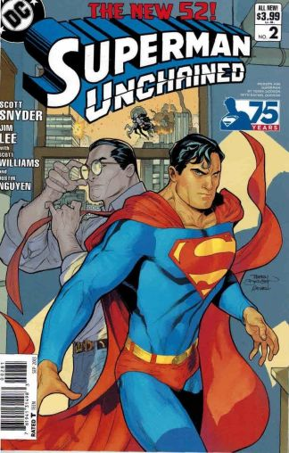 Superman Unchained #2 Terry Dodson Modern Age Clark Kent Variant
