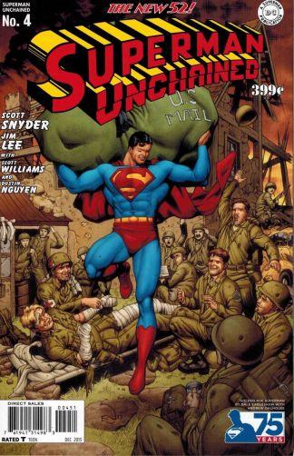 Superman Unchained #4 1:75 Dale Eaglesham Golden Age Variant