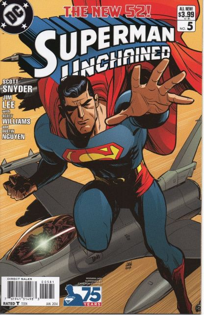 Superman Unchained #5 Cameron Stewart Modern Age Variant