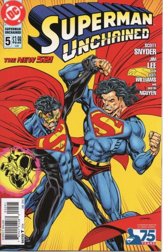 Superman Unchained #5 Kerry Gammill Superman Reborn Variant